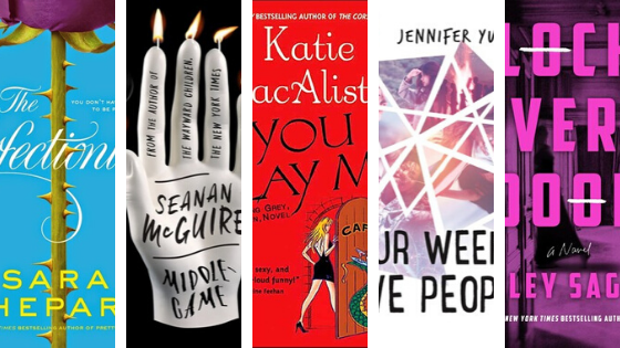 March TBR 2 - library books