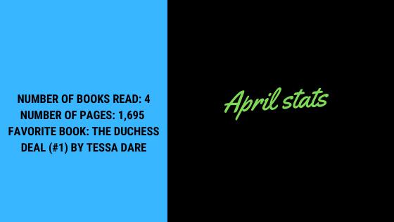 April Wrap-up Stats